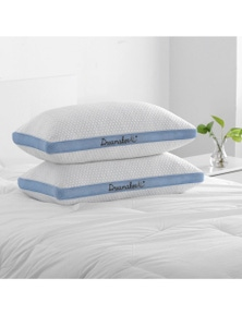 Dreamaker Cool Breathe Memory Fibre Mesh Gusset Pillow