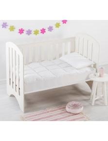 Dreamaker Baby Down Alternative Microfibre Cot Size Mattress Topper