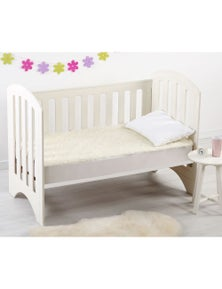 Dreamaker Baby Washable Wool Cot Underlay