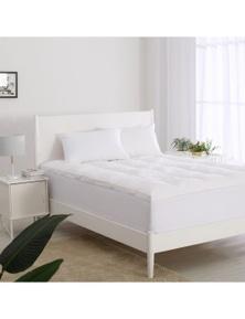 Dreamaker 1200Gsm Luxury Down Fibre Two Layer Mattress Topper