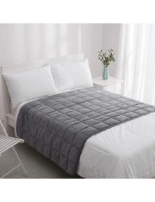 Dreamaker Calming Soft Weighted Blanket Grey 122x183cm 7kg