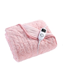 Dreamaker Faux Fur Heated Throw
