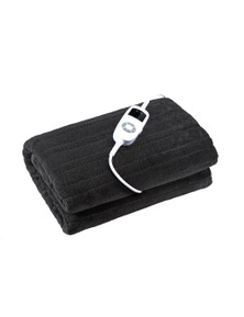 Dreamaker Coral Fleece Electric Heated Throw Blanket