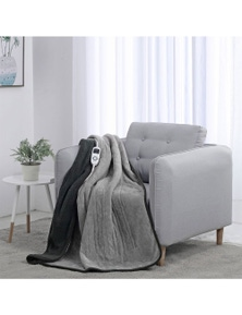 Dreamaker Reversible Heated Throw Blanket Two Tone