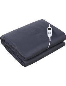 Dreamaker 100% Natural Cotton Cover Heated Weighted Electric Throw Blanket 5Kg