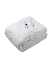 Dreamaker Waterproof 100% Cotton Cover Electric Blanket