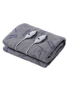 Dreamaker Bamboo Charcoal Quilted Electric Blanket