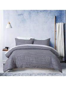 Dreamaker 250TC Printed Cotton Sateen Quilt Cover Set