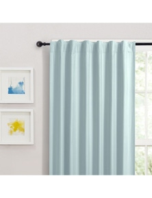 Home Living Albany Blockout Concealed Tab Top Curtain