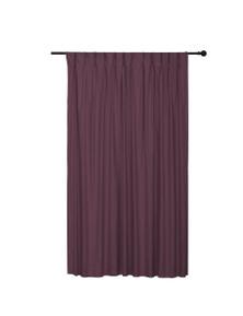 Sherwood Home Albany Blockout Pinch Pleat Curtain Single Panel