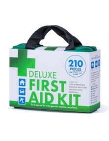Emergency Medical First Aid Kit 210pc