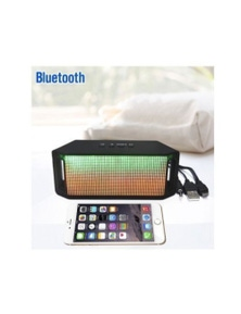 Mini LED Bluetooth Speaker Portable Wireless Super Bass Colour Changing Lights