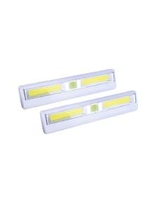 Brillar Remote Controlled Light Bars 2pk - White