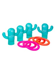 Lazy Dayz Inflatable Cactus Ring Toss