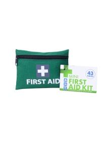 Mini First Aid Kit 43pc