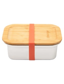 Clevinger Stainless Steel Bamboo Medium Lunch Box 800ml