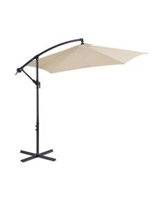 Milano Outdoor 3 Metre Cantilever Umbrella With Bonus Cover