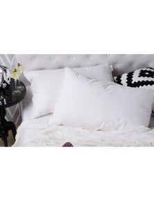 Royal Comfort Duck Feather and Down Pillows Twin Pack