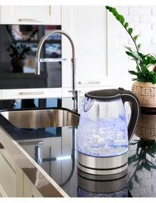 Pursonic 1.7 Litre Blue LED Glass Kettle