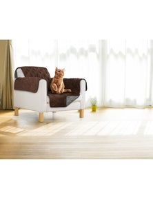 Sprint Reversible Pet Sofa Cover - Single Chair Size