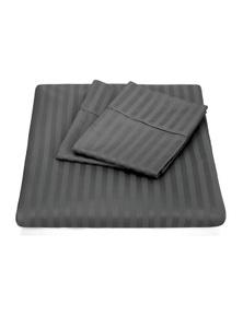 Kensington 1200TC Ultra Soft 100% Egyptian Cotton Striped Sheet Set