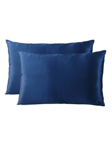 Royal Comfort Mulberry Silk Pillowcase Twin Pack