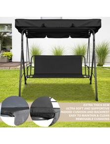 Milano Outdoor Steel Swing Chair