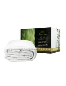 Royal Comfort Bamboo Quilt 350GSM - Queen