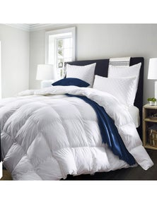 Royal Comfort Deluxe Pure Soft 500GSM Goose Feather & Down Quilt