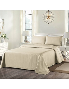 Royal Comfort 1000TC Cooling Bamboo Blend Striped  Sheet Set