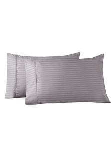 Royal Comfort Striped Bamboo Blend Pillowcase Twin Pack