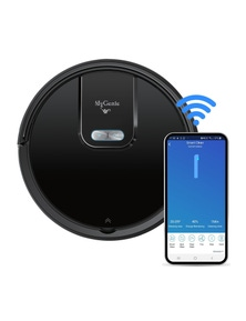 My Genie GMAX Wi-Fi Intelligent Robotic Vacuum - Black