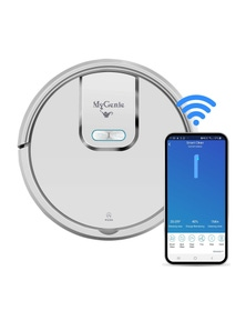 My Genie GMAX Wi-Fi Intelligent Robotic Vacuum - White