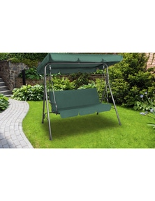 Milano Outdoor Steel Swing Chair