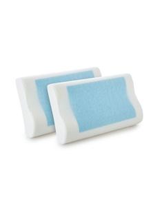 Royal Comfort Cooling Gel Memory Foam Pillow - Twin Pack