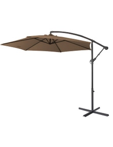 Milano Outdoor 3 Metre Cantilever Umbrella With Cover
