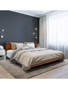 Milano Decor Azure Bed Frame with Headboard