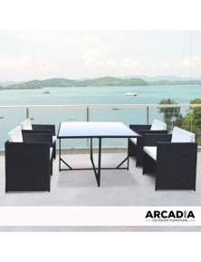Arcadia Furniture 5 Piece Outdoor Dining Table Set