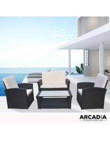 Arcadia Furniture 4 Piece Outdoor Sofa Set