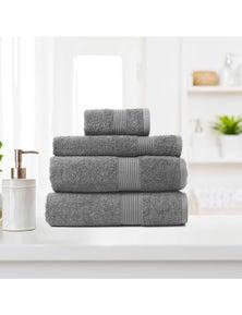 Royal Comfort 4 Piece Cotton Bamboo Towel Set