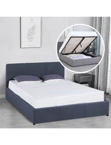 Milano Luxury Gas Lift Bed With Headboard