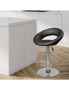 Milano Decor Delilah Circular Arc Adjustable Barstool