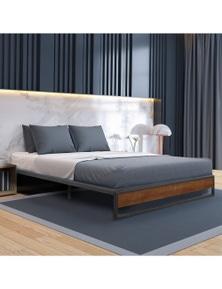 Sorrento Metal and Wood Bed Base