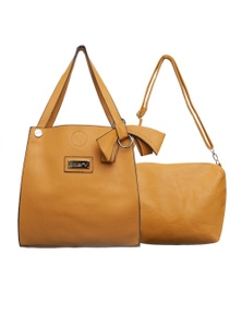 Antler Large Tote and Removable Carry Hand Bag Set