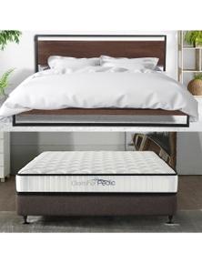 Azure Bed Frame  + Comforpedic Mattress - Bedding Package
