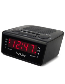Buddee Dual Alarm Digital Clock Radio