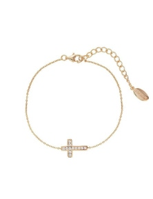 Georgini Love, Faith & Devotion Spiritus Bracelet- Rose Gold