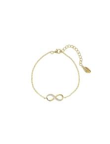 Georgini Love, Faith & Devotion Forever Infinty Bracelet -Gold