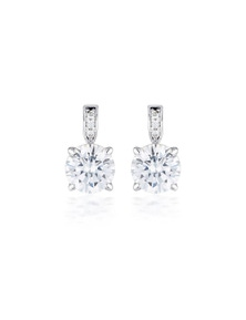 Georgini Simonetta Silver Stud Earrings