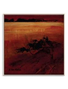 Lidia Ben-Nathan - Alizarin Dusk Canvas Art